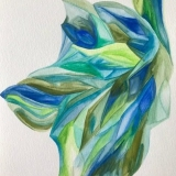 Aquarell auf Papier, 24 x 34 cm